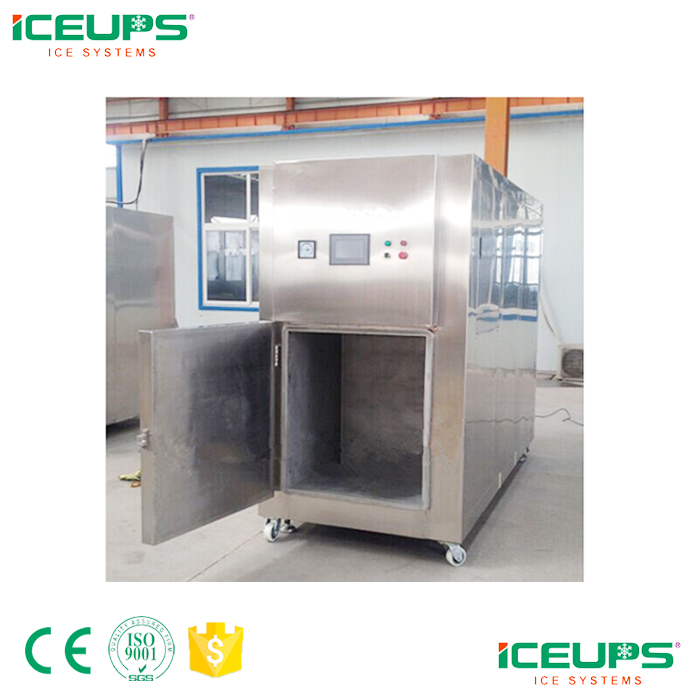 Vacuum cooling machine for restaurant cooked food