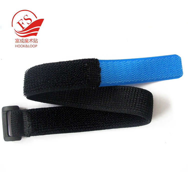 Durable heavy duty fastener tape elastic buckle luggage strap