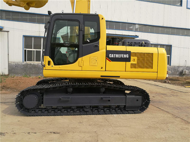 220-8 large PC crawler hydraulic 21ton 1 m³ excavator/ digger/big 0.9m³ digging machine