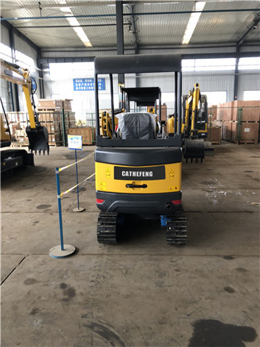 CATHEFENG 18-9B(yellow)  mini hydraulic  small crawler 1.9ton 0.05m³ excavator/mini digger/small digging machine