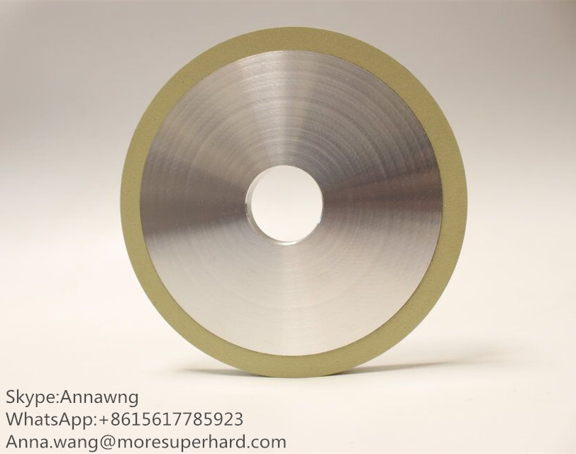 Ceramic Diamond Girdle Wheel For Bruting Natural Diamond