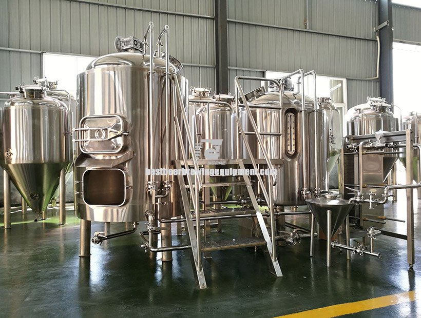 12000L (120HL) Commercial Beer Brewing System