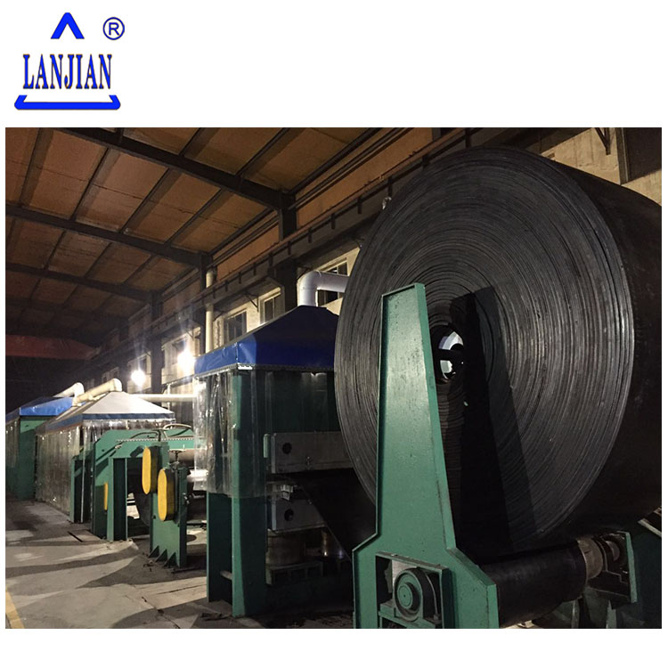 High temperature-resistance/Heat resistant/Cold resistant black EP rubber conveyor belt
