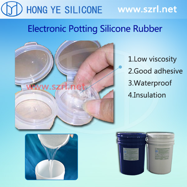 HY-9055 of Electronic Potting Silicone Rubber