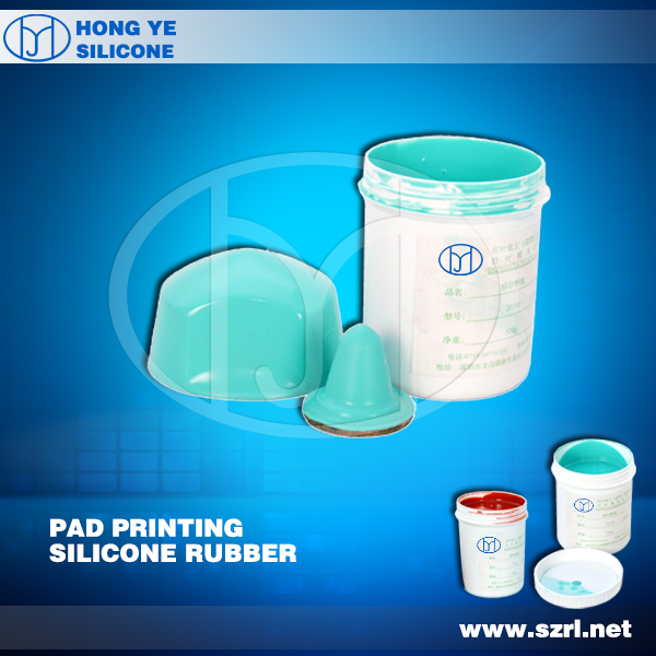 HY-916 RTV-2 Silicone Rubber For Pad Printing