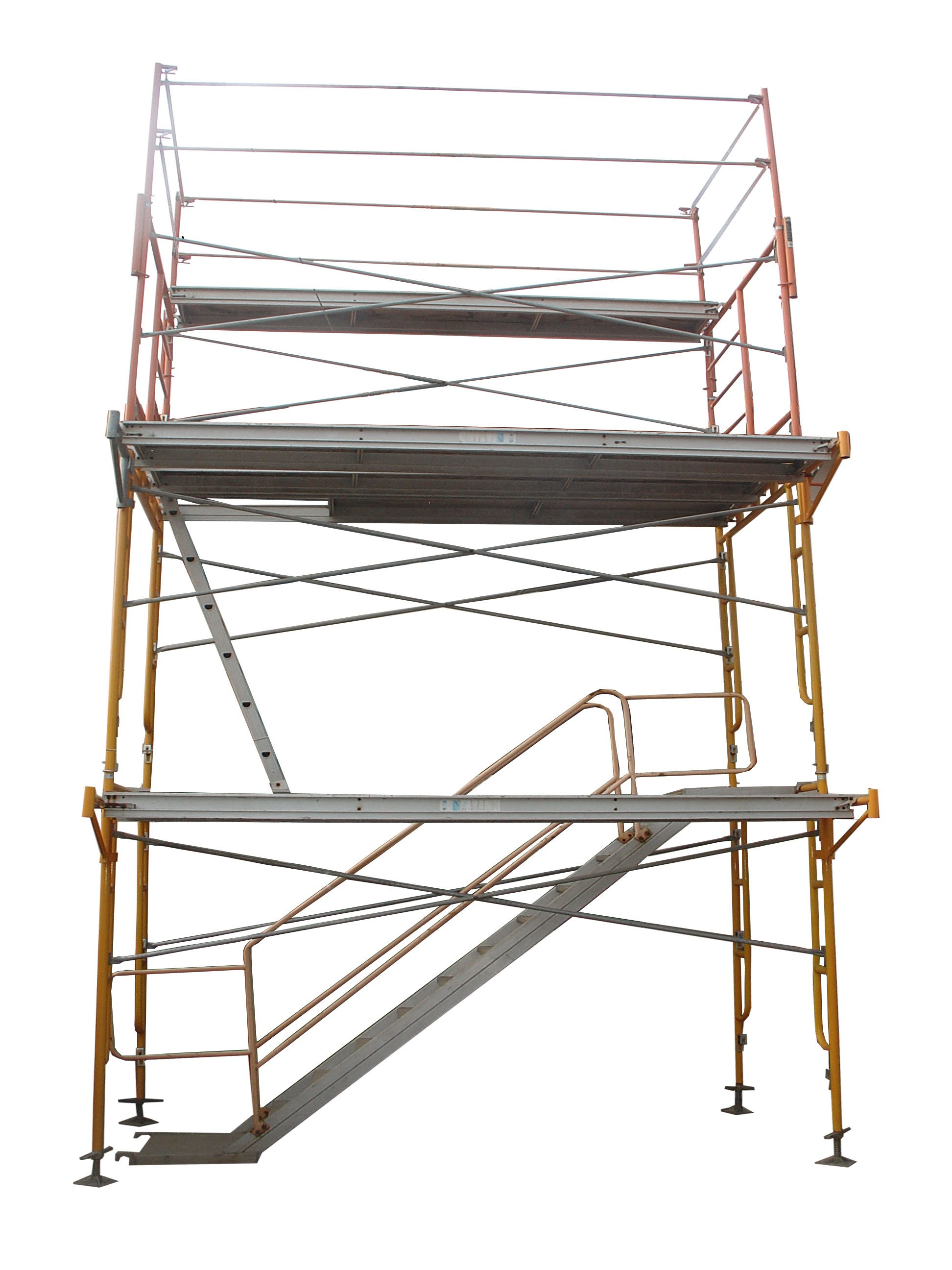Frame scaffolding and accessories