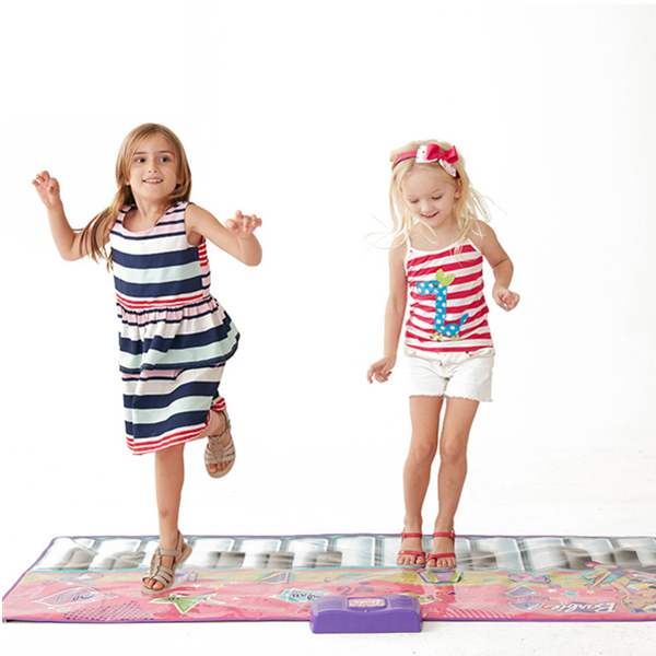 Barbie Big Piano Mat