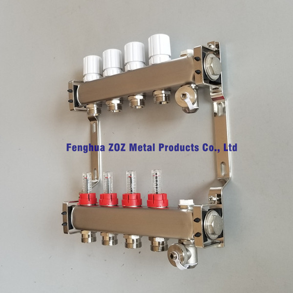 Stainless steel Manifold for Radiant Heating