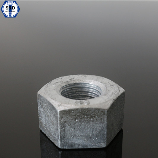 ASTM A563 Gr.A Hex Nuts with HDG