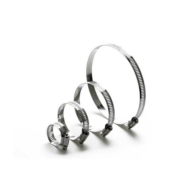 Stainless Steel American type hose Clamps for auto hose