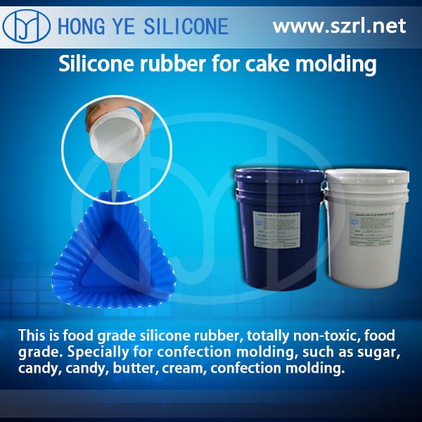 HY Liquid Food Grade Platinum Cure Silicone Rubber Food Mold