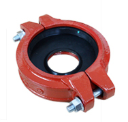 flexbile reducing/reducer coupling ductile iron grooved couplings and pipe fittings for fire fighting