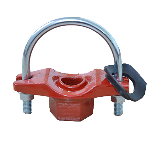 U-Bolted Mechanical Tee with Thread branch Grooved fittings