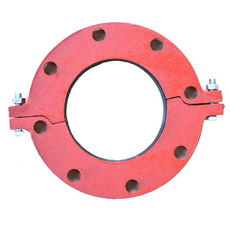 Split Flange PN16/CLASS 150 grooved fittings for fire fighting with FM/UL