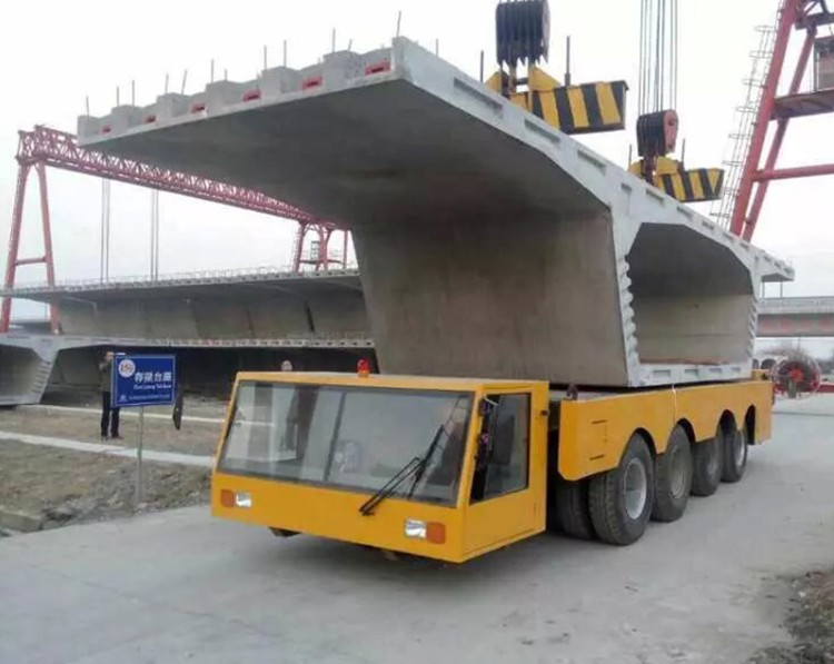300 ton rubber tyred bridge beam girder carrier transporter for sale