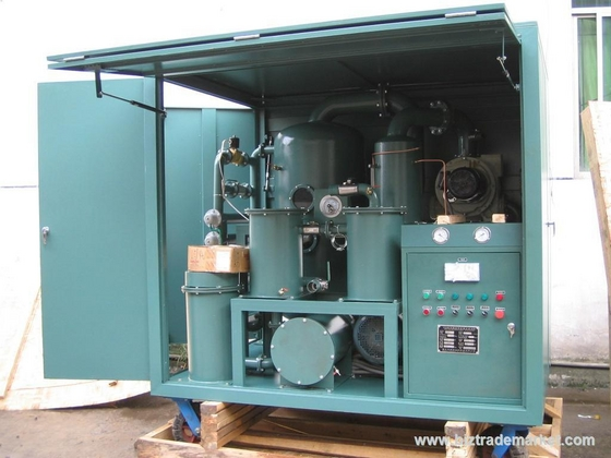 Dual Stage Vacuum Insulating Oil Filtration System