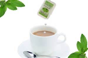 Dispenser packed Stevia tablet for tea and coffee