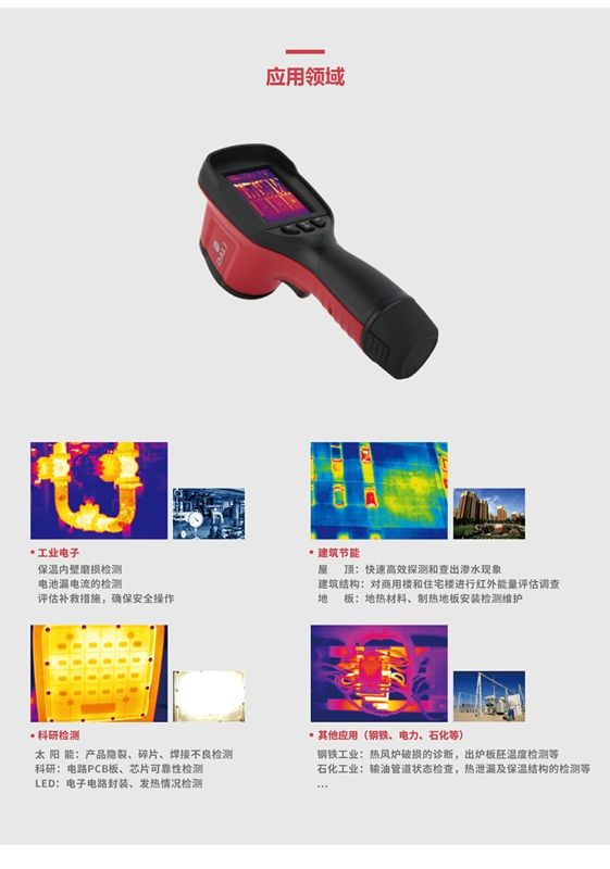 Getting T1 Handheld infrared thermal imager, you will be cl