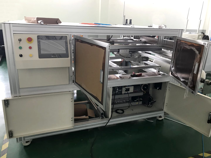Fully automatic membrane sheet/spacer cutting machine with 0 damage for membrane  surface protecting