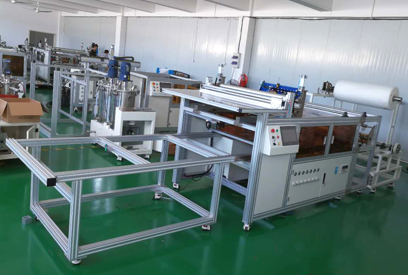 automatic High technology RO membrane sheet cutting machine without labor operating