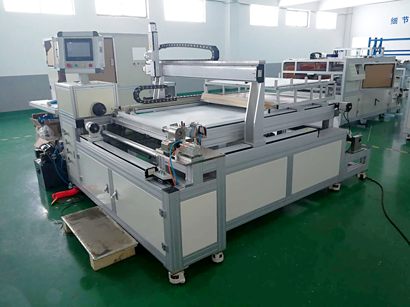 4040/4080 industrial RO membrane rolling/making machine with single labor operate