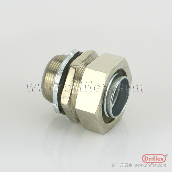 HOT SELLING Nickle Plated Brass Straight Conduit Fittings