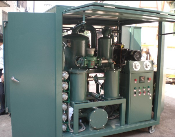 Double-Stage Vacuum Regeneration Insulating Oil Purifier
