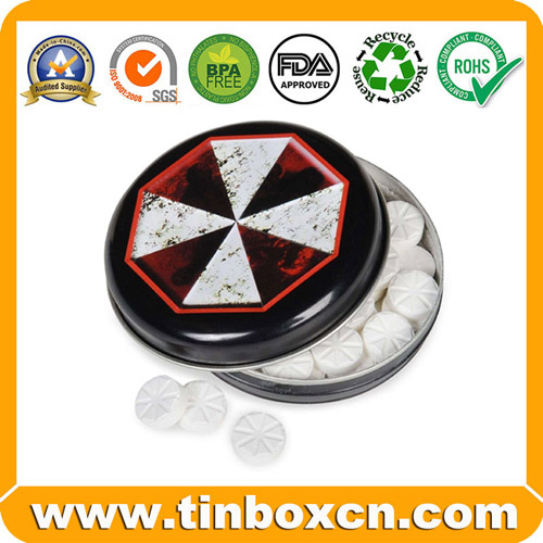Factory Sliding Mint Tins for Slide Metal Can Gum Box