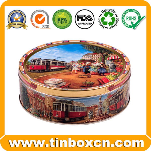 Cookies Tin for Gift Tin Packaging, Biscuit Tin Box
