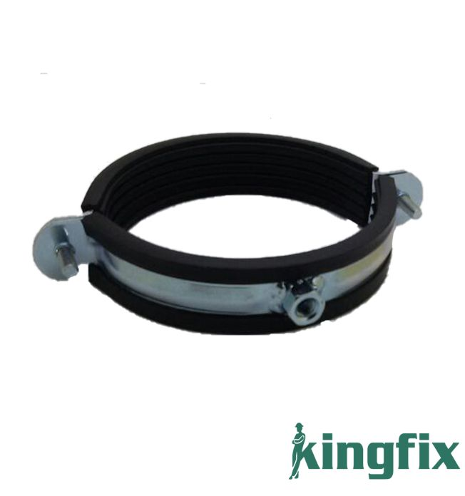 Heavy Duty Pipe Clamp With Rubber