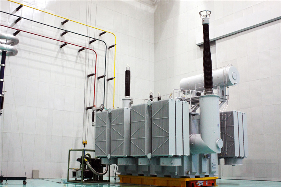 500KV UHV/EHV single/three phase oil immersed power transformer/autotransformer with CESI certificate