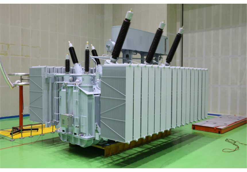 230KV three phase oil immersed power transformer/autotransformer with KEMA test report