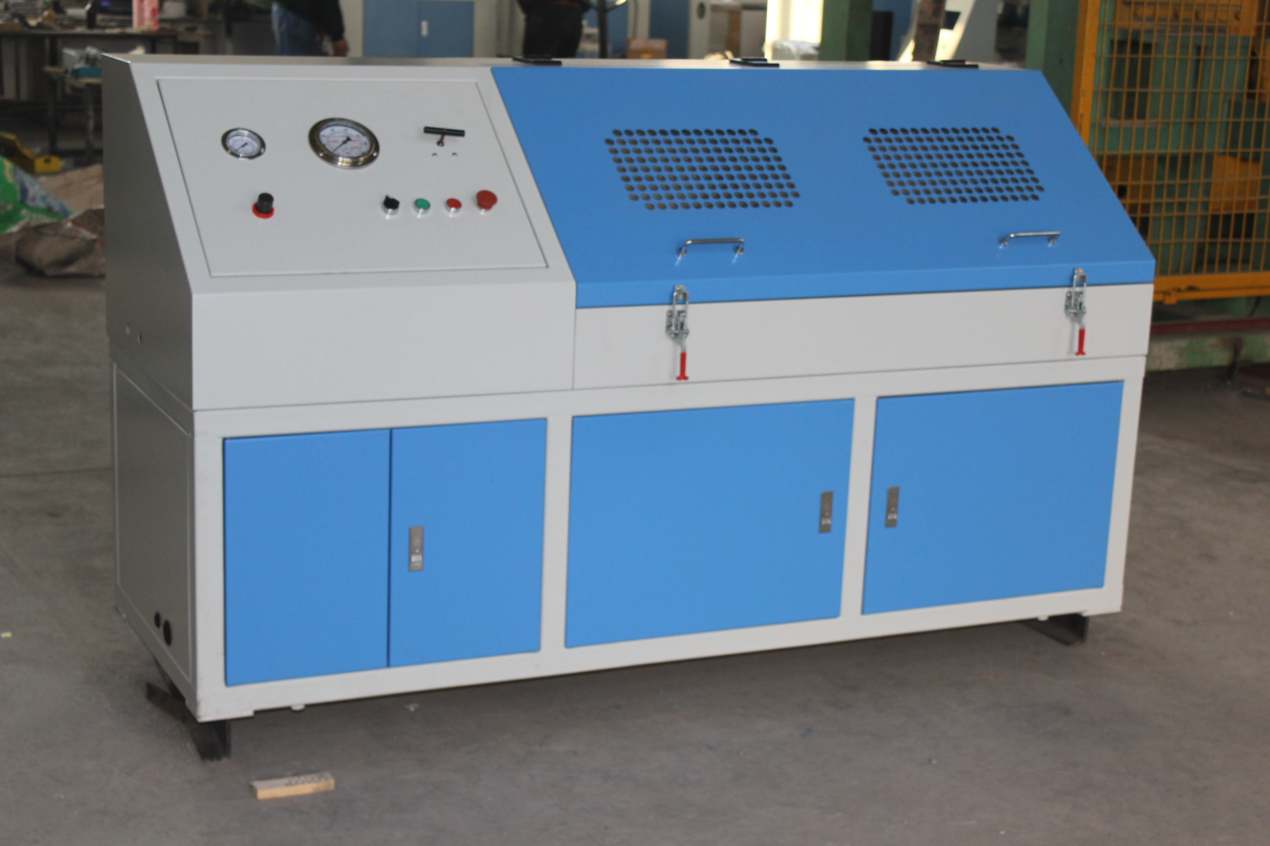 Rubber and Plastic hose PC-controlling bursting test bench