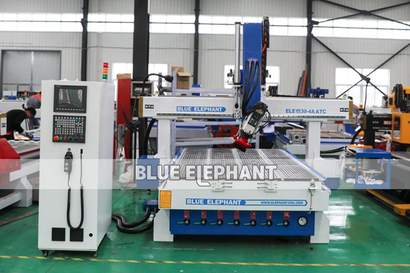 New Type 1530 ATC 4 Axis CNC Router with Carousel Tool Changer Magazine