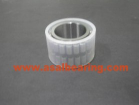 Cylindrical roller bearing without outer ring