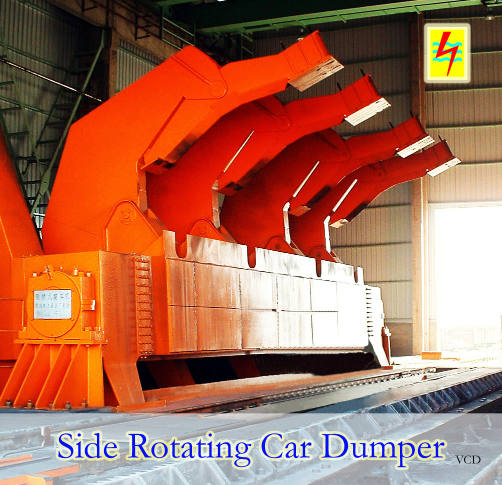 Large scale reliable side rotating Car Dumper supplier
