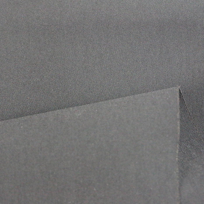 78%rayon 18%nylon 4%spandex black woven fabric clothing fabric