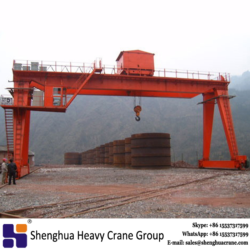 Electric box double beam gantry crane 55t 85t 90t