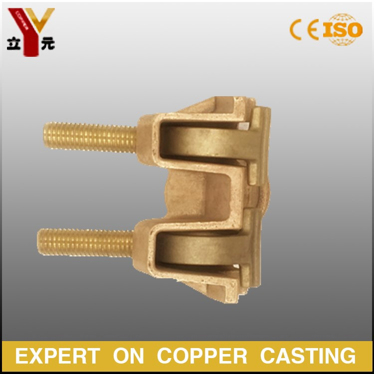 tin bronze /aluminum bronze/brass casting parts for transformer bushing