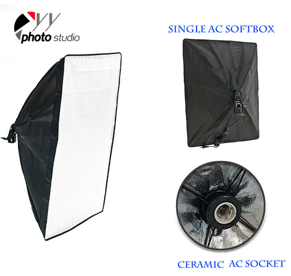 Photo Studio Continuous Lighting Single AC Easy Softbox YB202