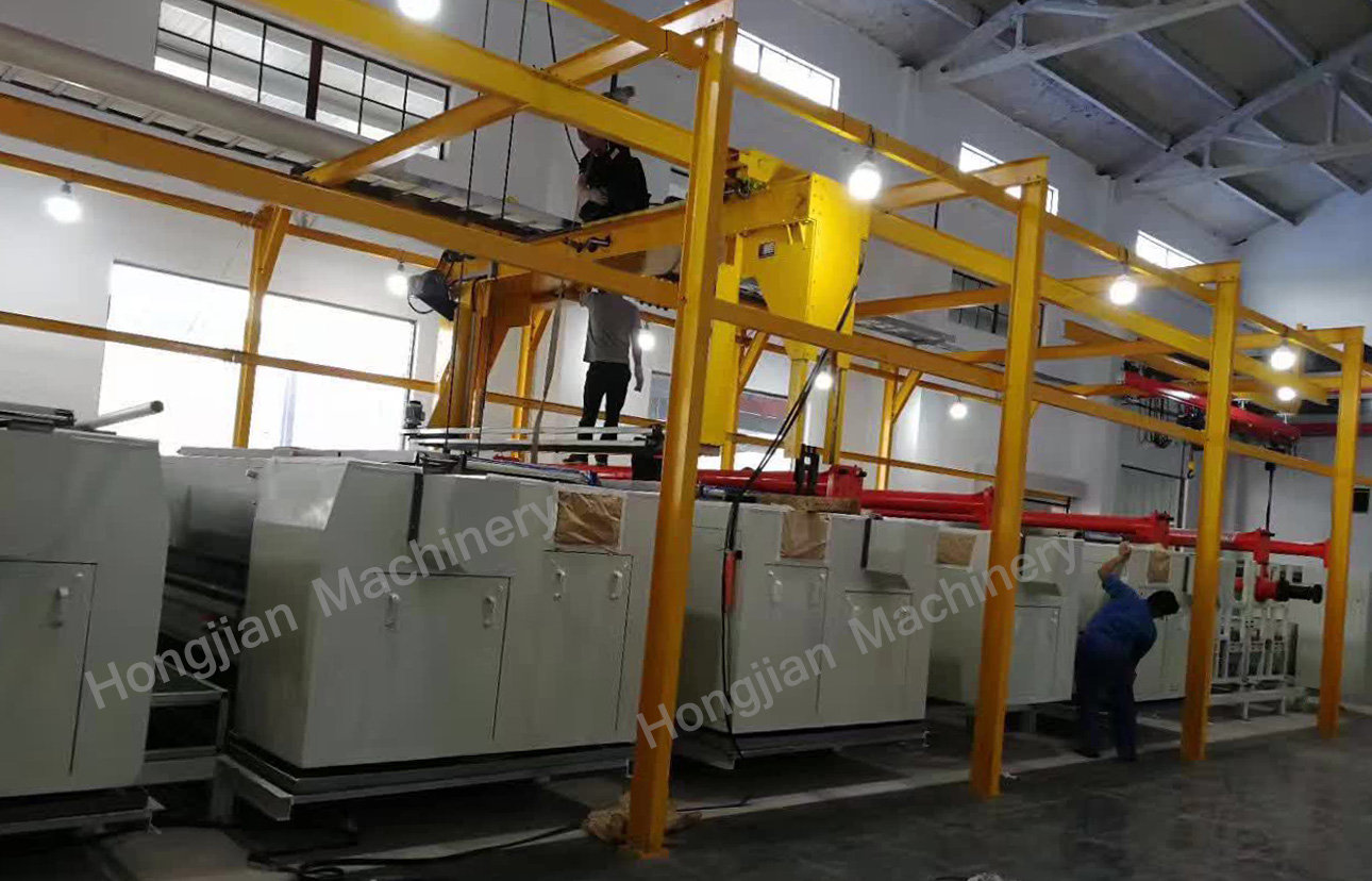 Automatic Electroplating Plant for Rotogravure Cylinder