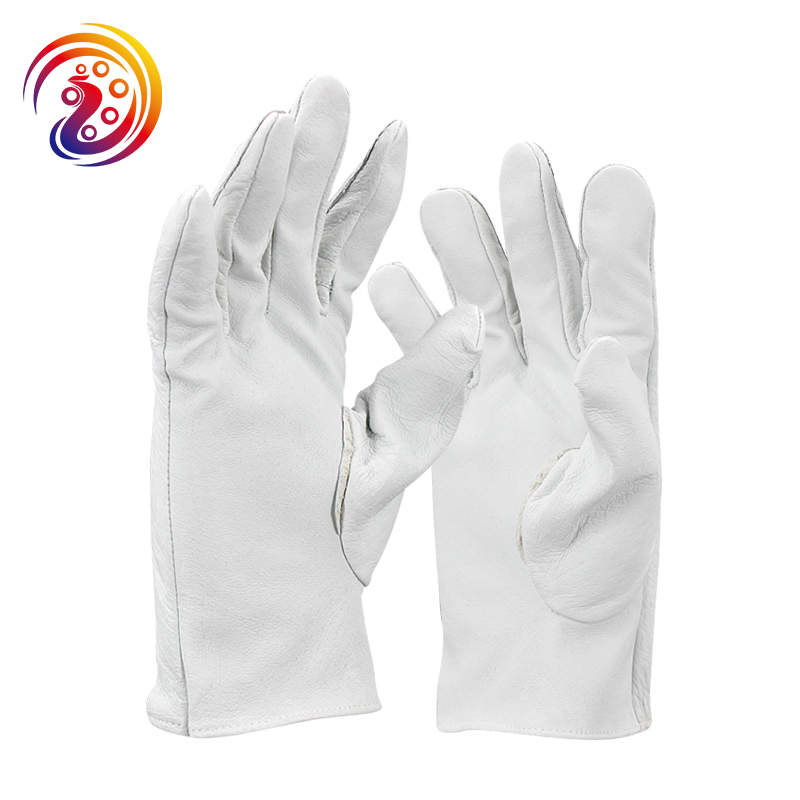 pigskin all leather drive gloves protective heavy duty work gloves
