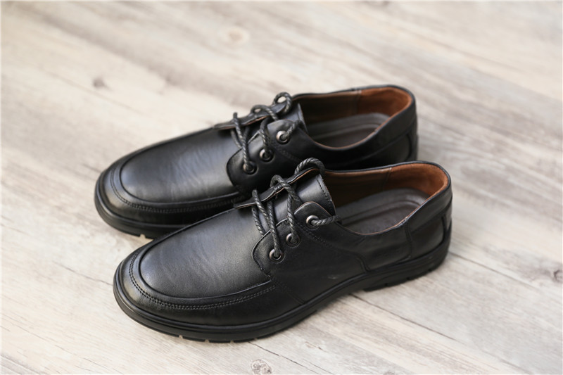 China fashion high quality formal plain toe lace-up modern men shoes