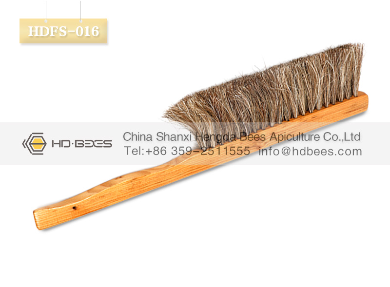 HD-BEES beekeeping tools HDFS-016 Solid Wood bee brush