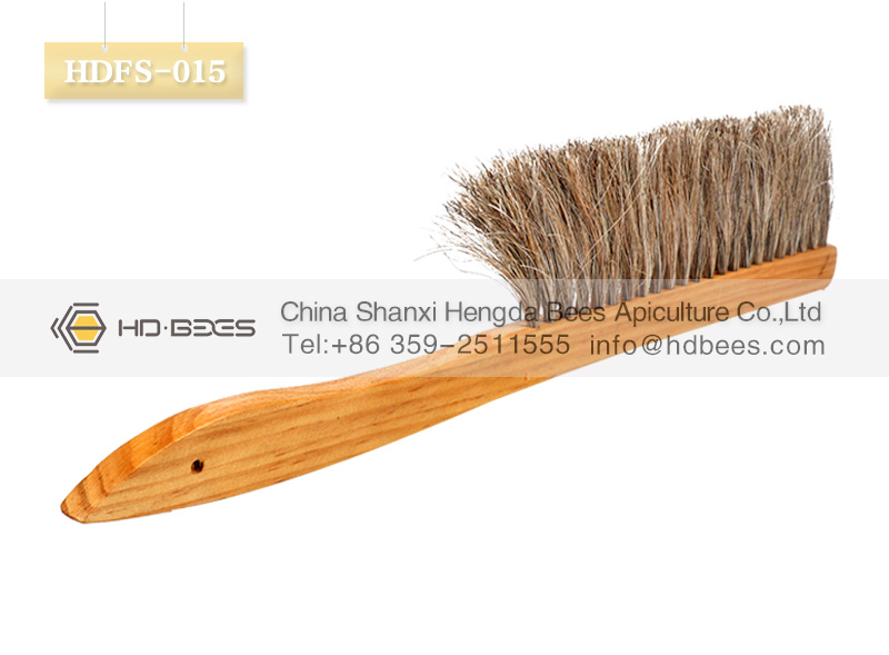 HD-BEES beekeeping tools HDFS-015 Solid Wood bee brush