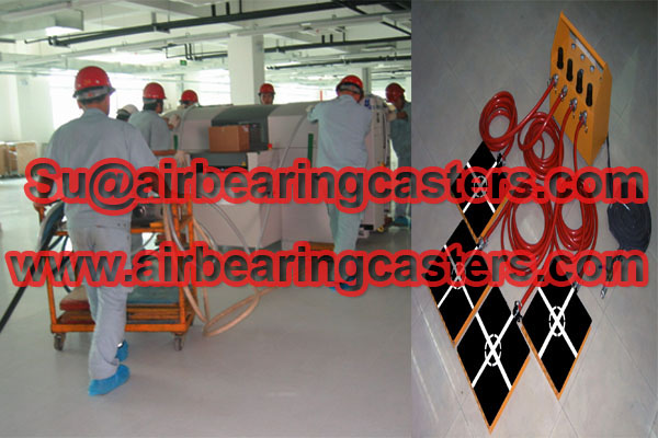Air bearing movers air paAir bearing movers