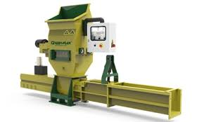 Styrofoam recycling densifier with GREENMAX APOLO C200