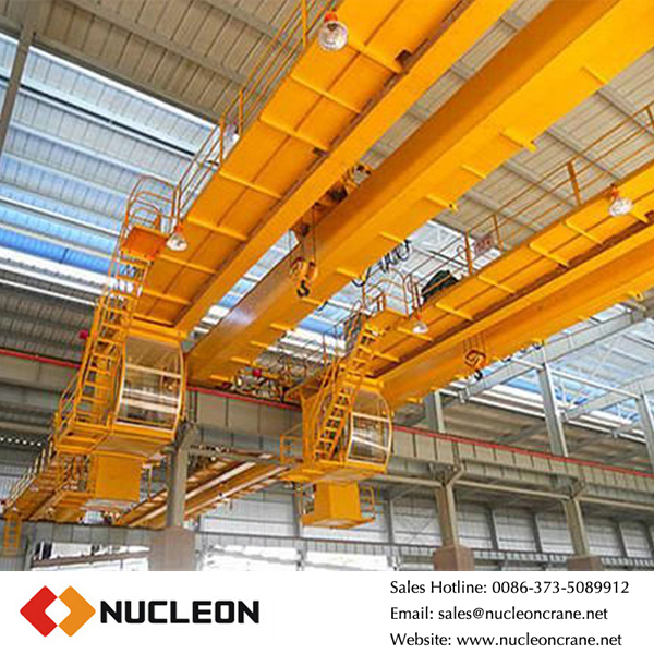 160t qd type rails mobile overhead bridge crane for sale
