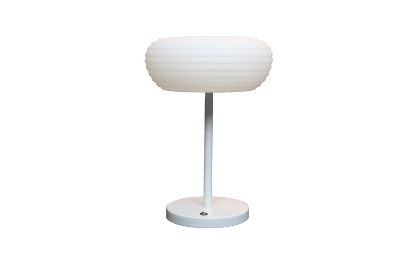 Special design fashionable decoration white modern table lamp for home