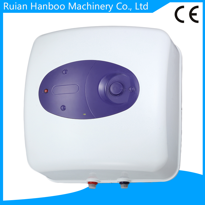 Square Small model storage electric water heater/gesyer for shower with enamel tank